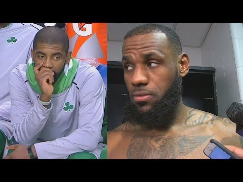 LeBron James Says Kyrie Irving and the Celtics are still playing better than Cavaliers
