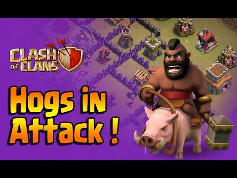 TH8 HOG ATTACK GUIDE | 2018 | 3 STAR STRATEGY | CLASH OF CLANS