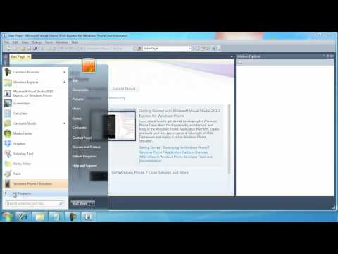 Installing Visual Studio 2010 Express for Windows Phone Development