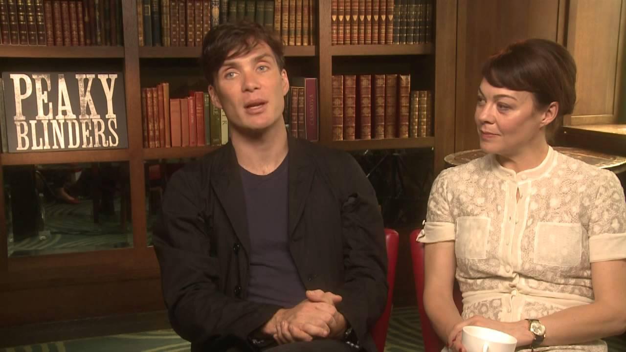 Peaky blinders season two cillian murphy and helen mccrory interview