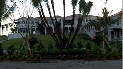 Massive Manalapan Florida House Under Construction December 2012
