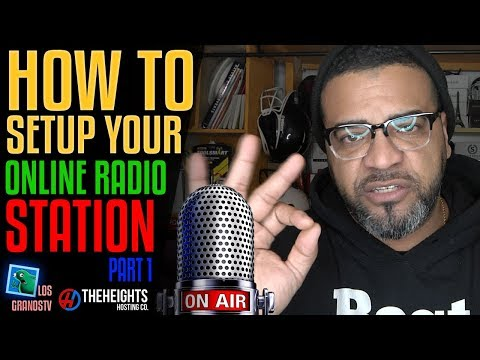 How To Setup an Online Radio Station 🎤 Part 1: Getting Start