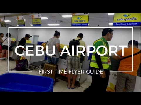 First Time Flyer Guide - Flying Domestic in Cebu Airport