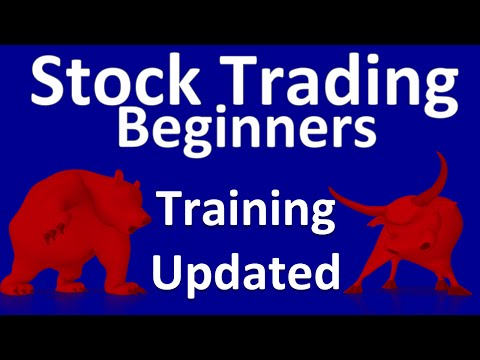 Stock Trading For Beginners  Training – Updated