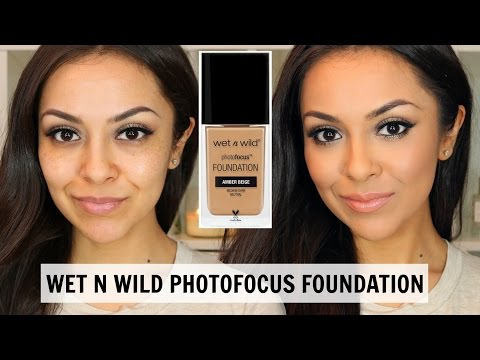 Wet N Wild Photofocus Foundation First Impression - TrinaDuhra