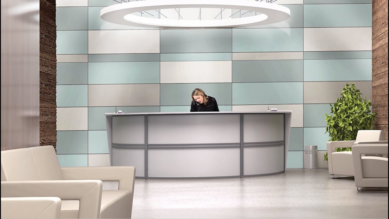 Awesome OFM Furniture Presents: Marque Reception Stations   YouTube