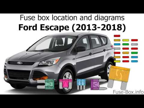 2011 ford escape fuse box fuse box location and diagrams ford escape  2013 2019  youtube  fuse box location and diagrams ford