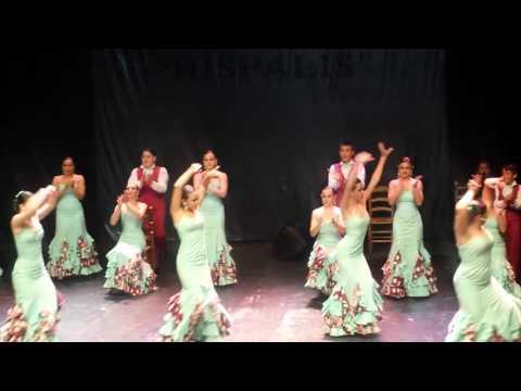 Grupo Lerele Casa Andalucía Parla (II Concurso Nacional  De Baile Flamenco De Sevilla)
