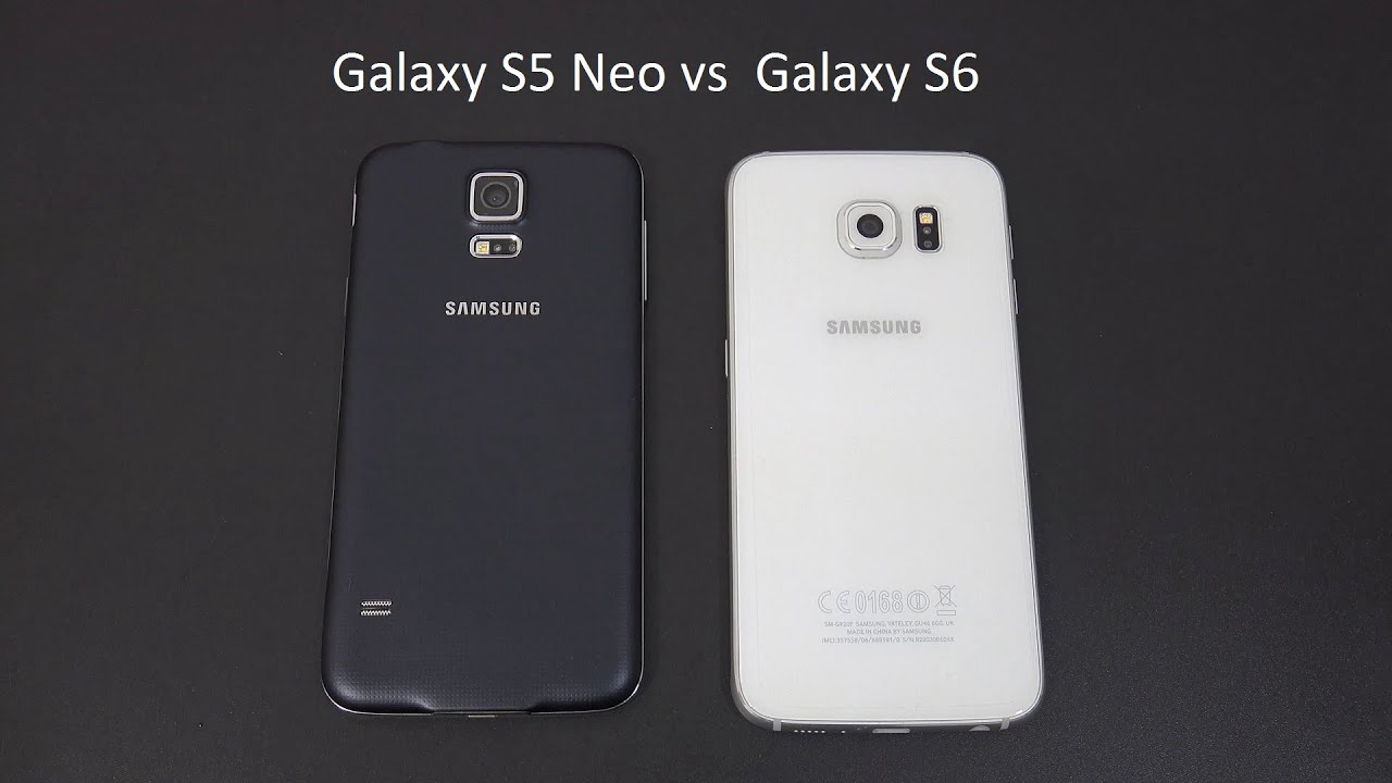 Samsung Galaxy S5 Neo Vs Galaxy S6 Eng By MobileExperience