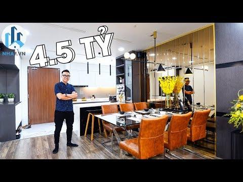 """Khám Phá Căn Hộ """"SMART HOME"""" Tại Rivera Park Rộng 93m2 Trị Giá 4,5 Tỷ Đồng – NhaF [4K]"""