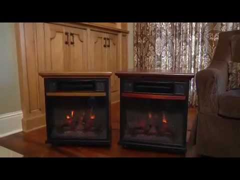 Duraflame Spencer Portable Fireplace with Infrared Heater ...
