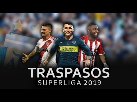 Mercado de Pases Superliga 2019/ Boca Juniors, River Plate, Independiente