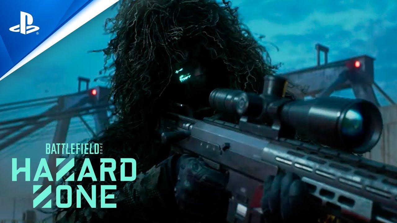 Battlefield 2042 - Tráiler PS5 del HAZARD ZONE con subtítulos en ESPAÑOL | PlayStation España