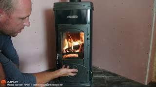Видео обзор Печи-камина Nordica Super Max Verde