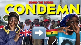 JAY BAHD - #CONDEMN (FT CITYBOY, O'KENNETH, REGGIE & KWAKU DMC) *REACTION* #kumerica