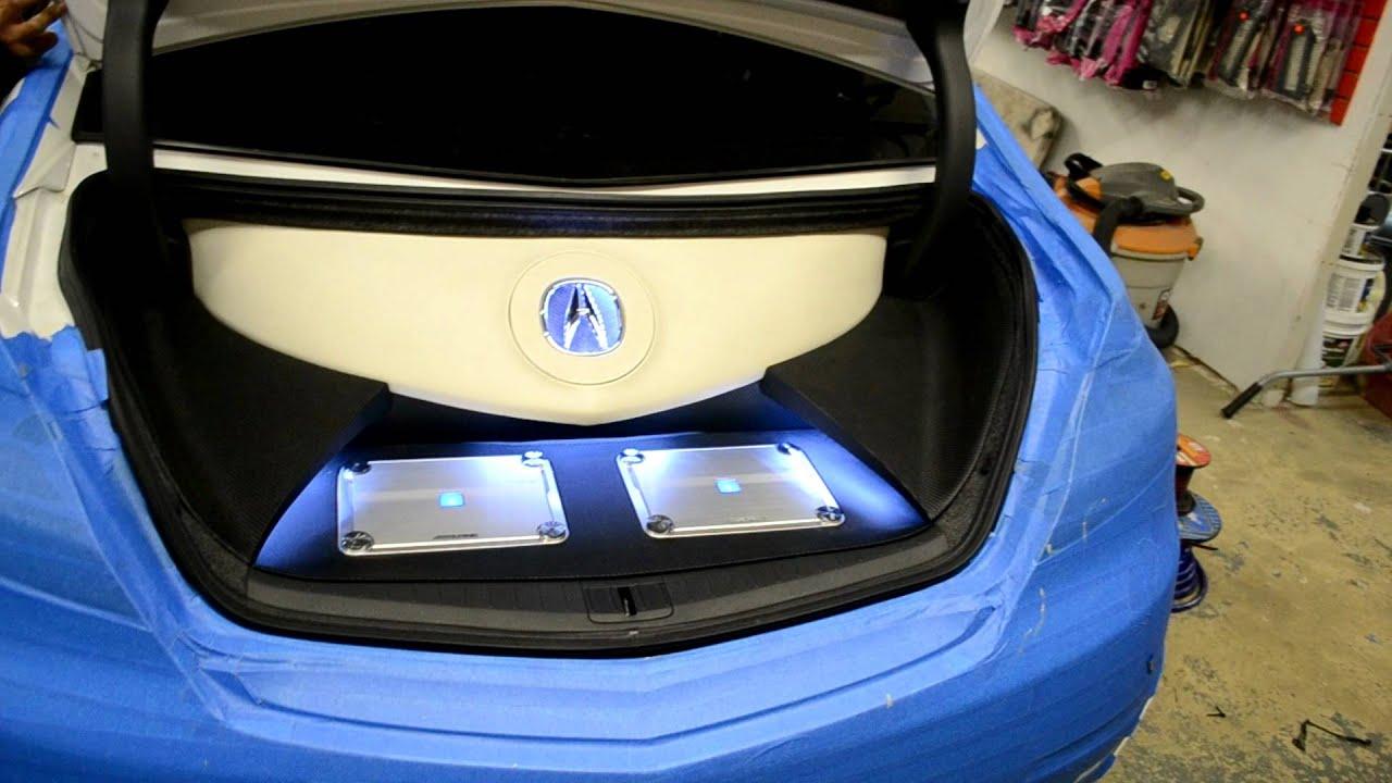 Acura TL Audio System YouTube - Acura tl subwoofer enclosure