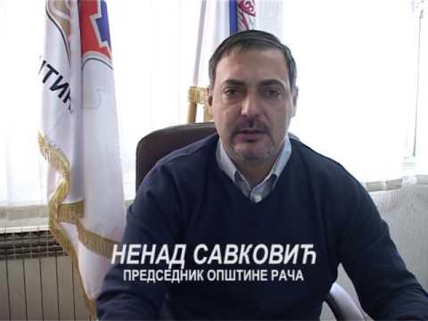 Opština Rača novogodišnja čestitka 2017 (Predsednik Opština Nenad Savković)
