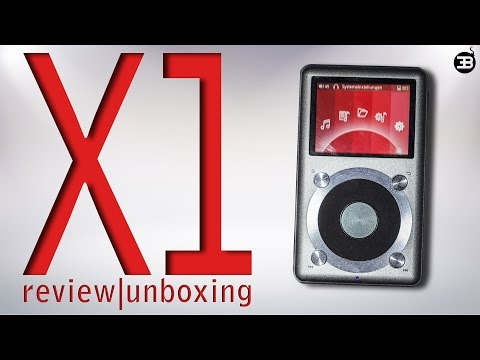 Fiio X1 Review+Unboxing| High Definition Audio Player |192KHz/24Bit | silber