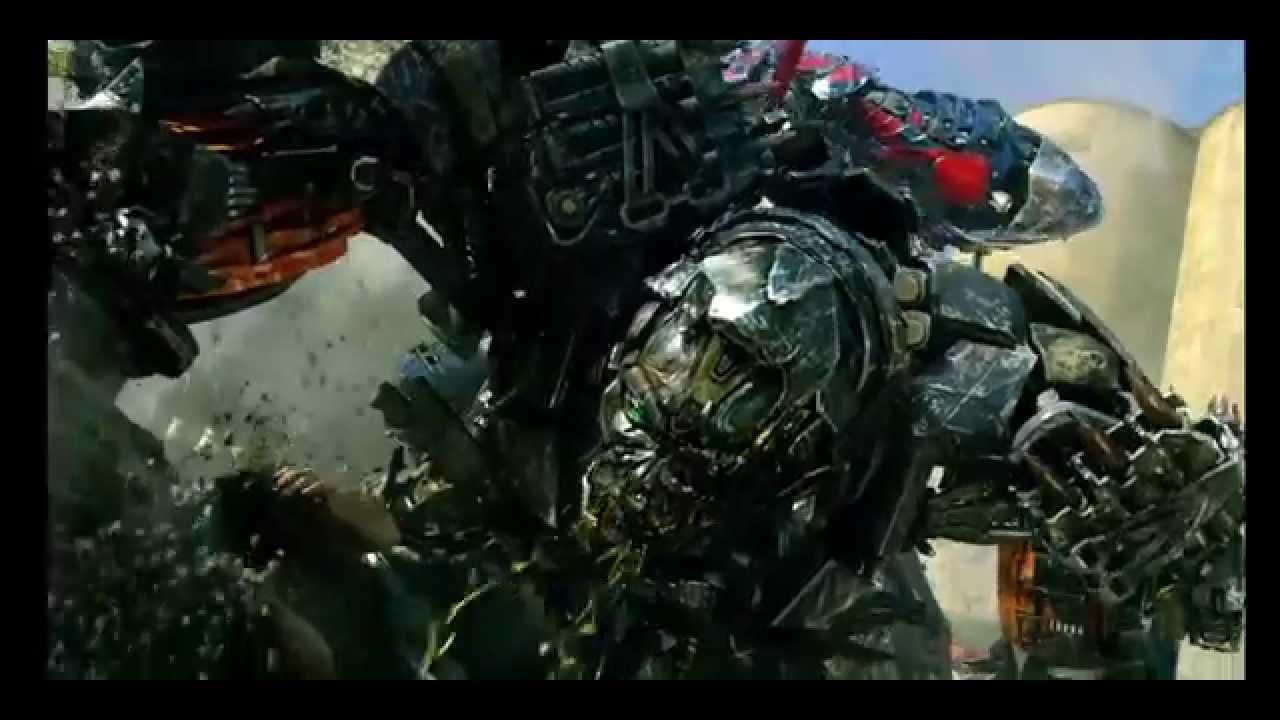 Transformers 4: Optimus Prime vs. Lockdown (In Reverse ...