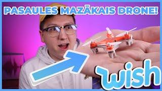 Pasaules mazākais Drone no Wish! (EP11) 💲💲💲