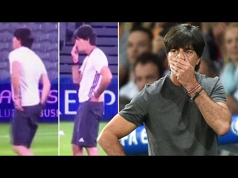 All Disgusting Moments By German Football Coach Joachim Löw