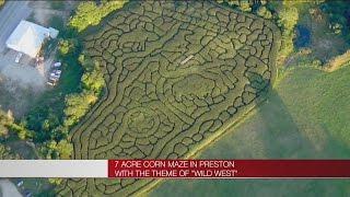 Preston's Wild West corn maze