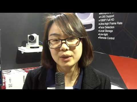 ISE 2016: VHD Shows the VHD-V61U USB3.0 HD Video Conference Camera