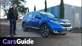 Honda CR-V 2017 review: first drive video