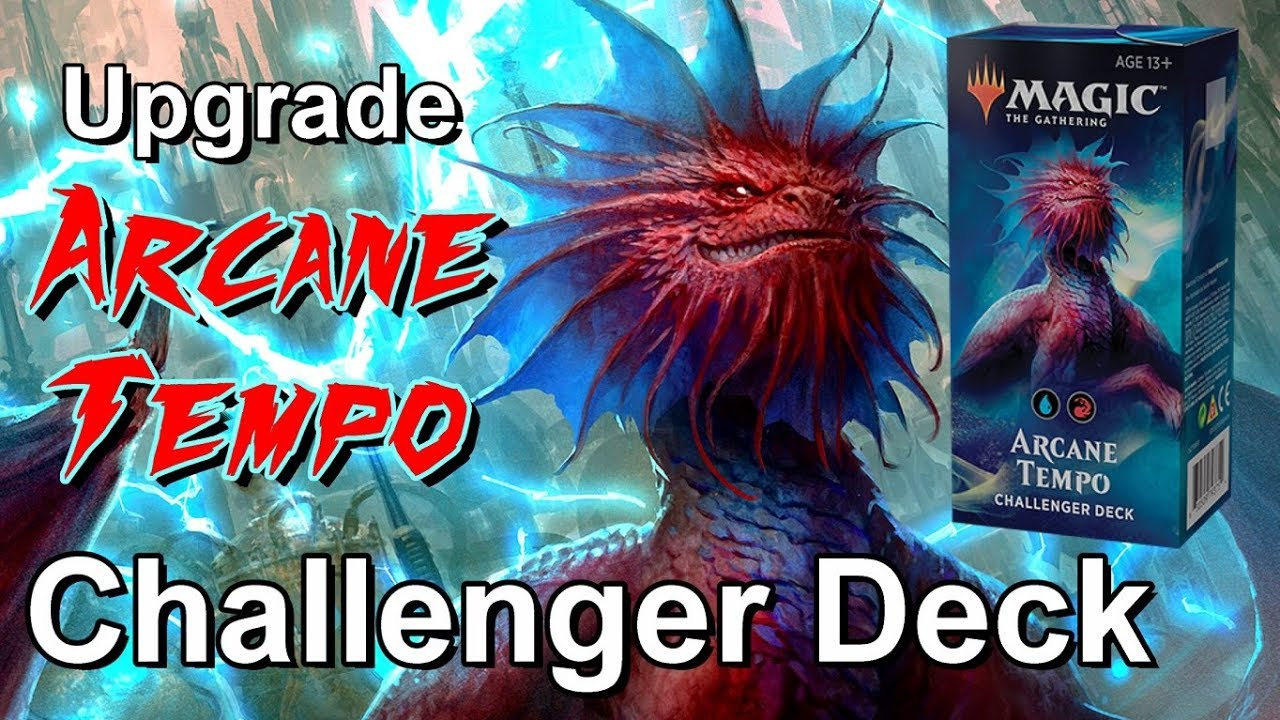 MTG Magic the Gathering 2019 Challenger Deck Arcane Tempo Blue Red