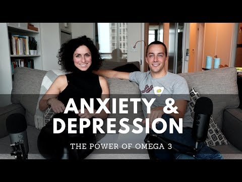 OMEGA 3 BENEFITS And The BEST FOODS To HEAL Depression And Anxiety