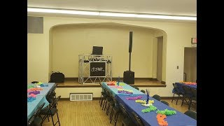A Single DJ Speaker At A Wedding?
