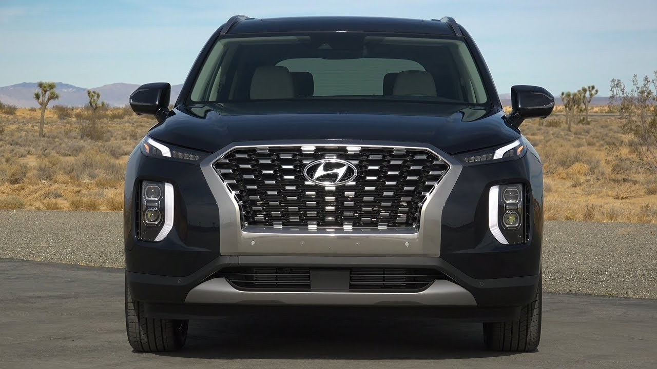 2020 Hyundai Palisade Road Trail Driving Interior Exterior
