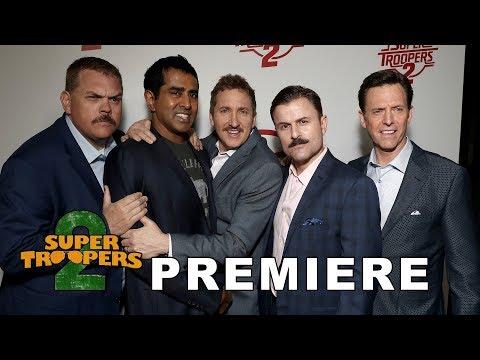 'Super Troopers 2' Premiere