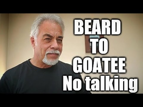Beard Trimed to