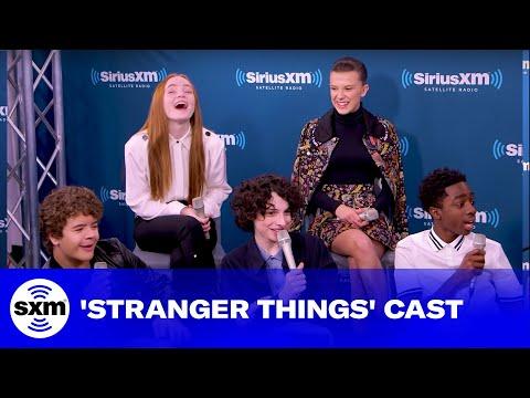 Cast of Stranger Things Hopes for Season 3 | SiriusXM Entertainment Weekly Radio
