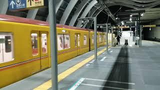東京メトロ銀座線 渋谷駅リニューアル後 20200105 終電後の回送