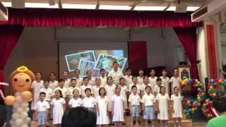 2014.4.25聖米迦勒小學校慶唱主的恩賜