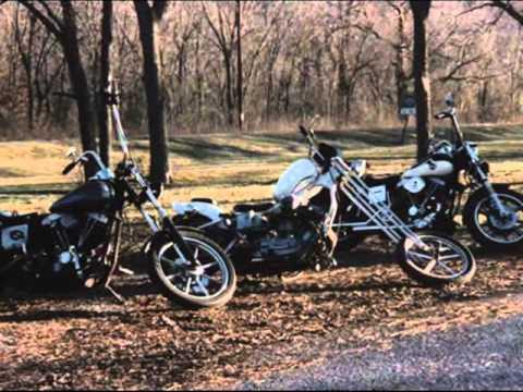 526a8a1ed Harley biker Trash old school - YouTube