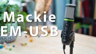Mackie EM-USB im Test - Ein USB-Mikrofon besonders für Singer, Songwriter und Podcaster