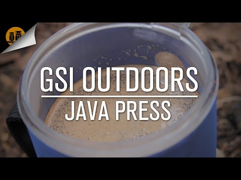GSI Java Press | Backpacking Coffee French Press | Field Review