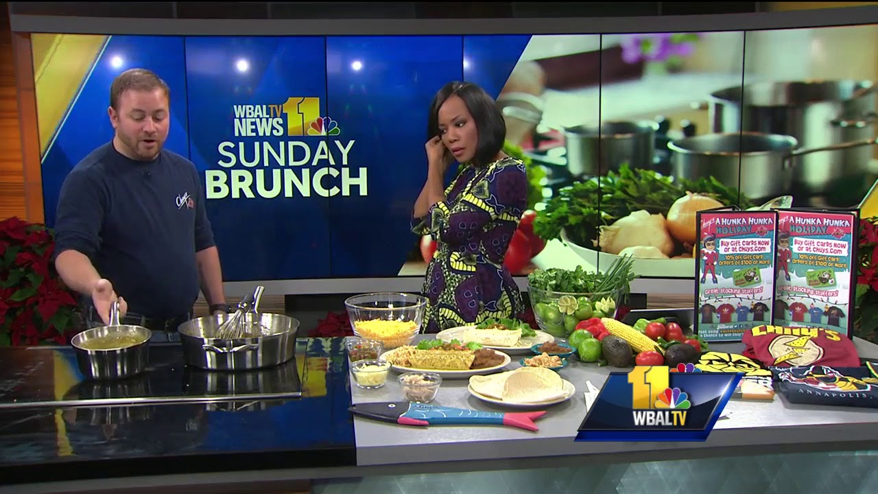 Sunday Brunch Chuy S Tex Mex Makes Fan Fave Chicka Chicka Boom Boom Youtube