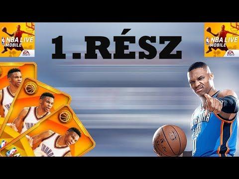 NBA LIVE MOBILE ÚJRA!1 Rész