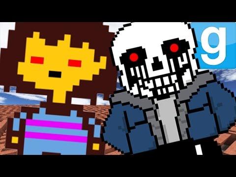 KILLER UNDERTALE MAZE?!   Garry's Mod Sandbox