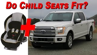 2015 Ford F 150 SuperCrew Child Seat Review - 4K