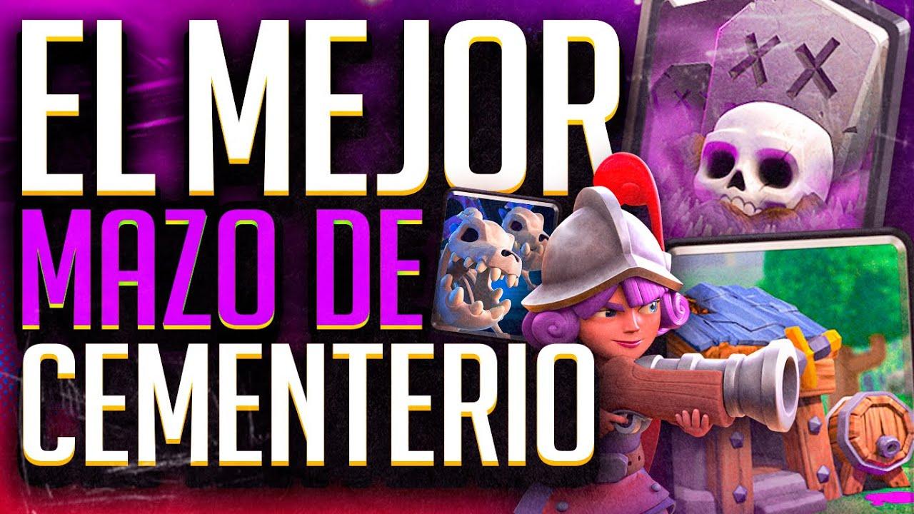 EL MEJOR MAZO DE CEMENTERIO!! CLASH ROYALE - KANARIOOO