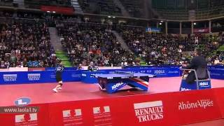 Repeat youtube video 2012 Euro Top12 SF OVTCHAROV Dimitrij vs CHEN Weixing