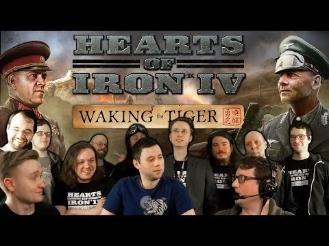 HOI4: Waking the Tiger - Release Stream Part 1