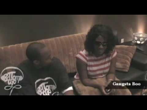 Gansta Boo Interview - Bottom UP Entertainment - Music House Studios