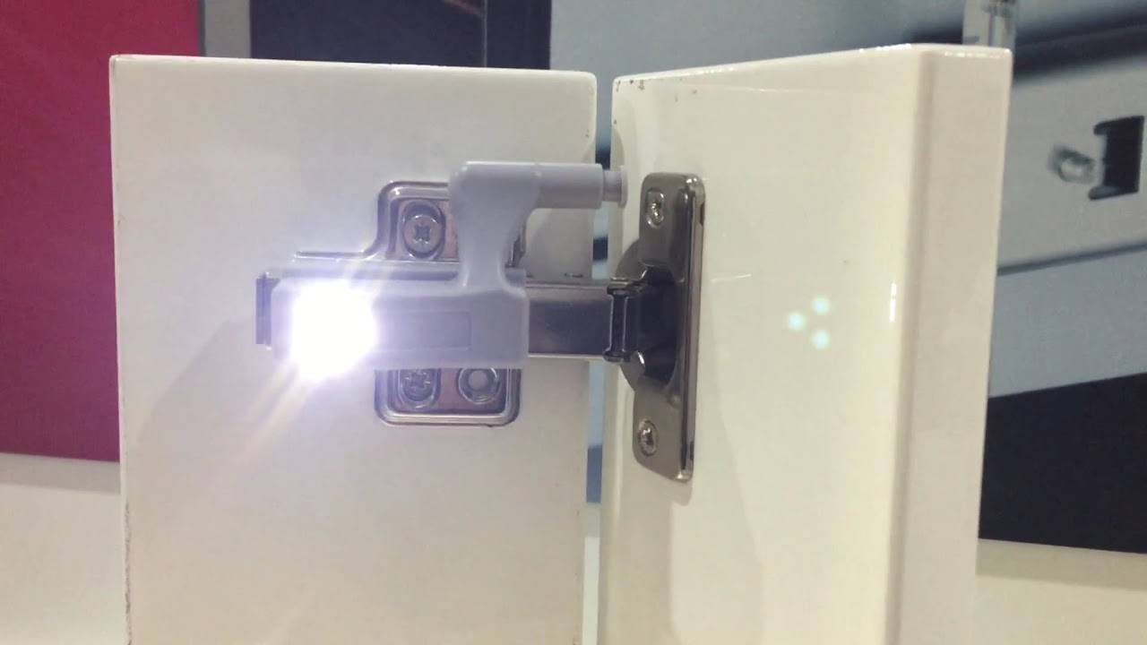 sensor kitchen cabinet light, hinge led light with best ...