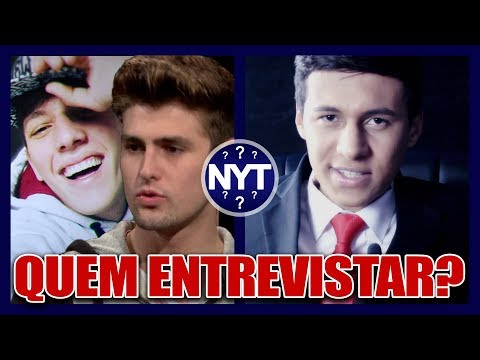 VAMOS ENTREVISTAR YOUTUBERS E O DANIEL VERÇOSA VOLTOU AO NYT